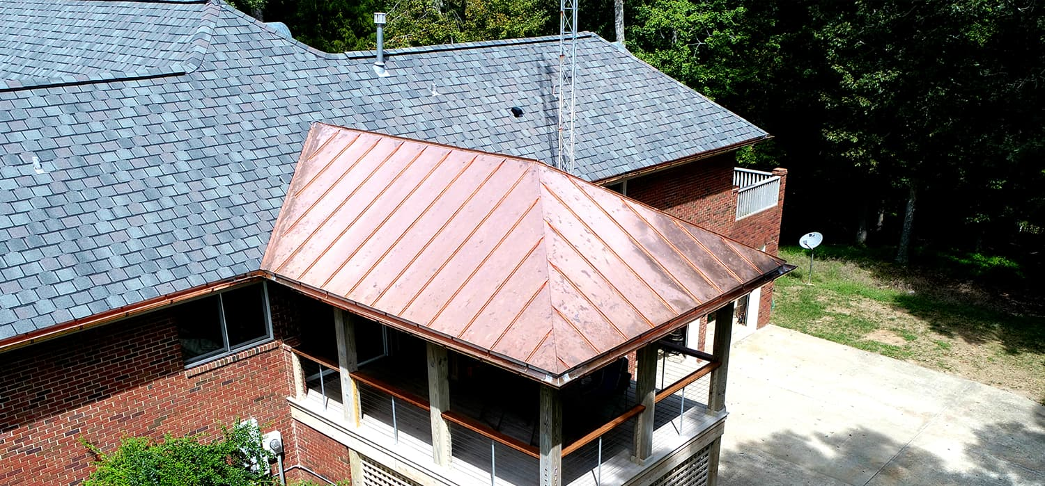 Stunning Combo: Shingle Roofing and Custom Metal Fabrication